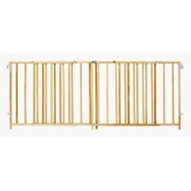 NEW North States Extra Wide Swing Wood Baby Safety Gate